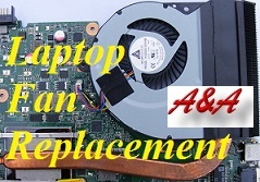 Shifnal Sony Vaio Laptop Cooling Fan Repair