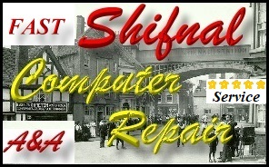 Fast Shifnal Office PC Repair, Laptop, Network Repair
