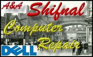 Dell Shifnal Laptop Repair and Dell Shifnal PC Repair