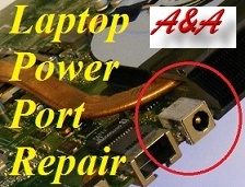 Shifnal Sony Vaio Laptop Power Socket Repair